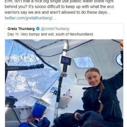 Greta Thunberg hylles og latterliggjøres