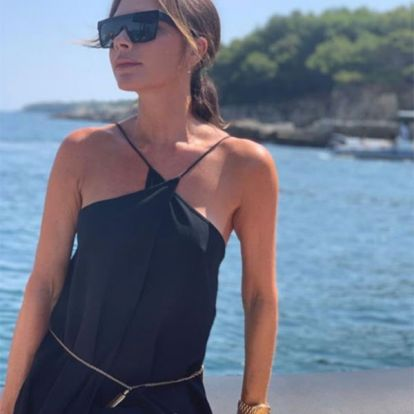 7 affordable dupes for Victoria Beckham's signature halterneck maxi dress