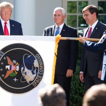 Az USA már készül a csillagok háborújára, felállt az amerikai hadsereg űrparancsnoksága