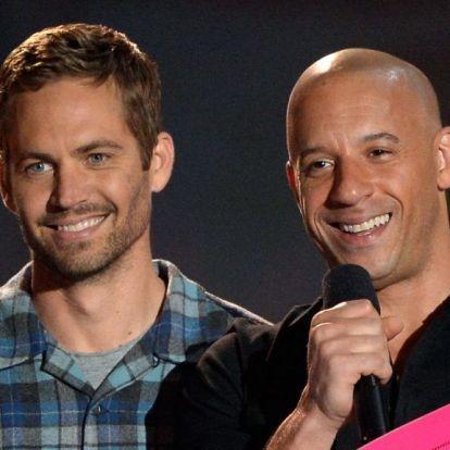 Paul Walker és Vin Diesel lányai szelfiztek, a Halálos iramban-fanok meg csak lájkolnak