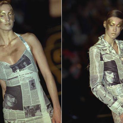 Újra divatba jött a különleges retró trend: az újságminta az év legnagyobb durranása