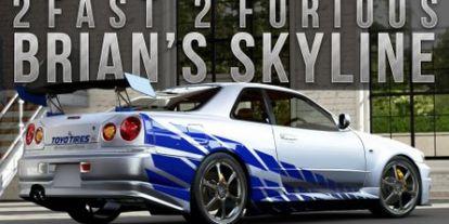 Videó: A Halálos Iramban-filmben használt Nissan GT-R R34 története