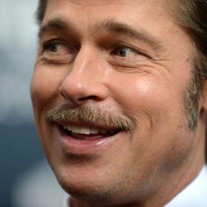 Brad Pitt is elment a Kanye West által celebrált misére