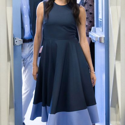 You can get a dupe for Meghan's Roksanda Athena dress for just £59