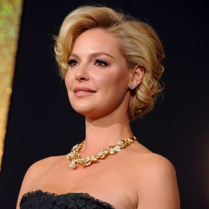 Katherine Heigl's Brown Hair Will Convince You To Cross Over To The Dark Side