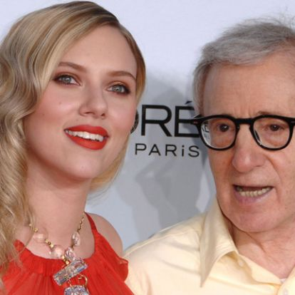 Scarlett Johansson ártatlannak tartja Woody Allent