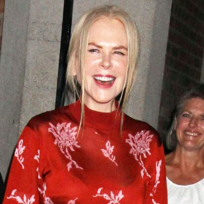 Nicole Kidman was wearing the finest feathered flats in existence 2019