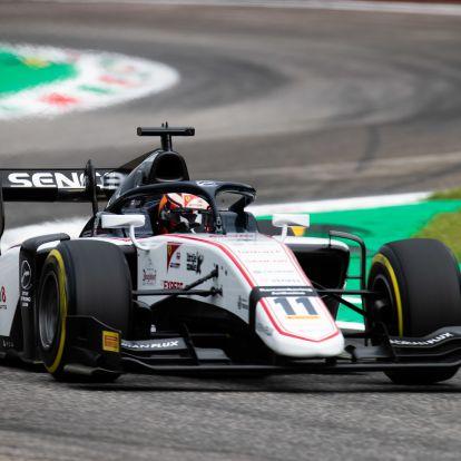 F2: Első pole-ját szerezte a Ferrari-akadémista Monzában, De Vriest kizárták