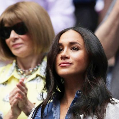 Meghan Markle and Anna Wintour Wore the Prettiest Dresses to See Serena Williams