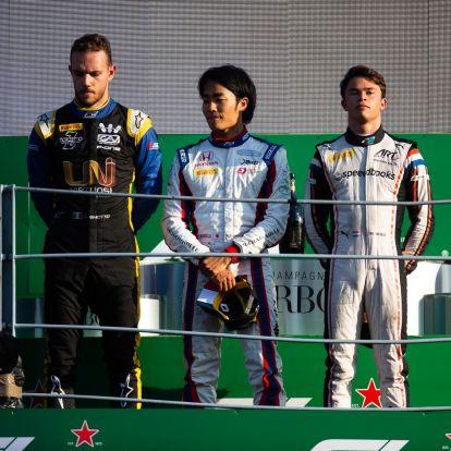 F2: Matsushita nyert, Ghiotto és De Vries a nap hősei