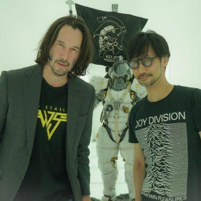 Keanu Reeves Hideo Kojima stúdiójánál járt, lőttek pár közös, vagány képet is