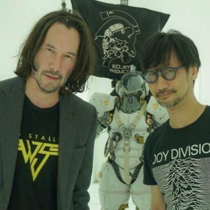 Keanu Reeves meglátogatta Hideo Kojimát