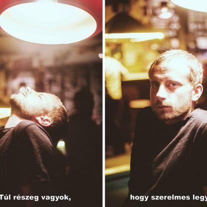 Bánszegi Rebeka fotókon kelti életre a budapesti vécék falára írt üzeneteket