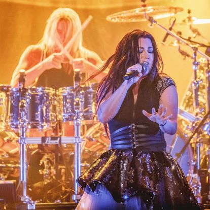 Tíz kép a budapesti Evanesence-koncertről
