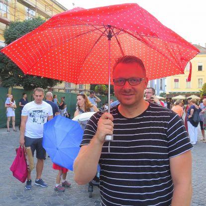 A fehérvári kreatív, aki az esernyős flashmob mögött áll