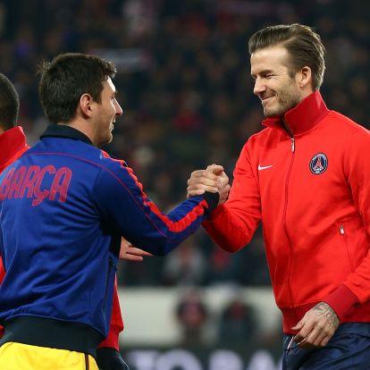 Beckham Messit próbálja meggyőzni, hogy igazoljon a klubjához