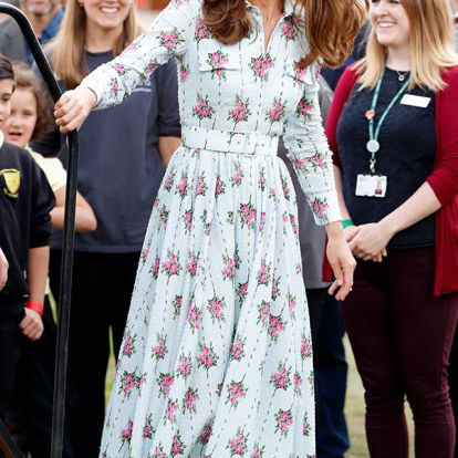 Kate Middleton just stepped out wearing £1.50 earrings from Accessorize