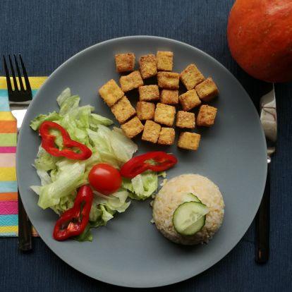 Váratlan vendégek? Fogadd őket ropogós tofu kockával!