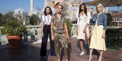 Ariana Grande, Miley Cyrus y Lana del Rey, por fin juntas en la canción de 'Los Ángeles de Charlie'