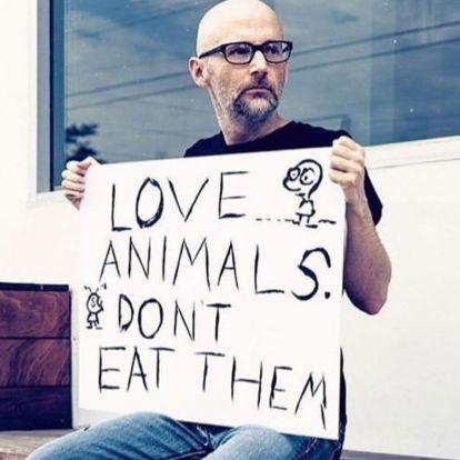 Ő is vegán: Moby