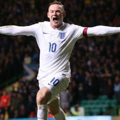 """Rooney: """"Az én angol futballgenerációm is mindent megnyert volna Guardiolával"""""""