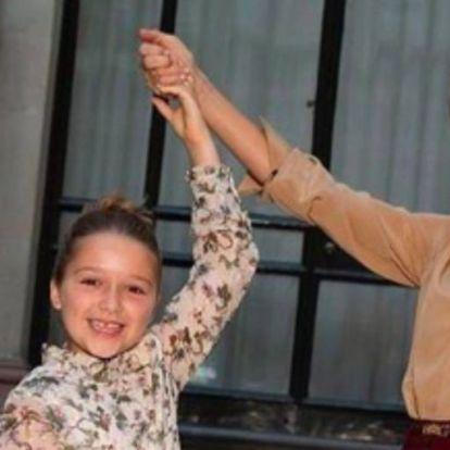 Az egész Beckham család ott volt Victoria divatbemutatóján | Elle magazin