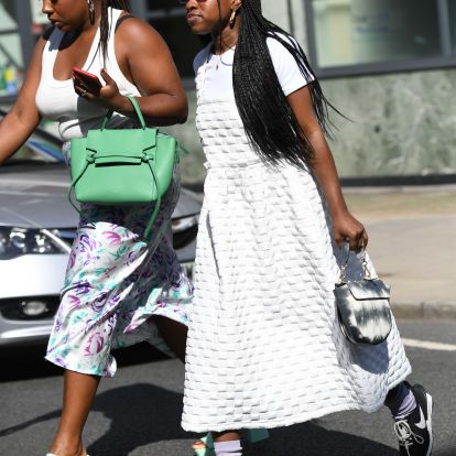 Shop London Fashion Week Spring/Summer 2020 Street Style Looks That Everyone's Talking About