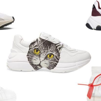 A legjobb fehér tornacipők őszre   Elle magazin