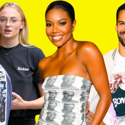 Az új szerelemlakat: egymás arcát hordani a pólónkon   Elle magazin