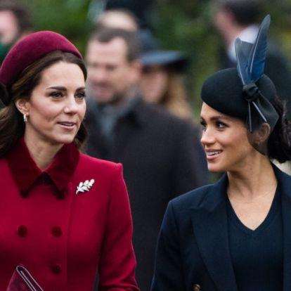 Ezért nem lesznek soha Kate Middleton és Meghan Markle legjobb barátnők   Elle magazin