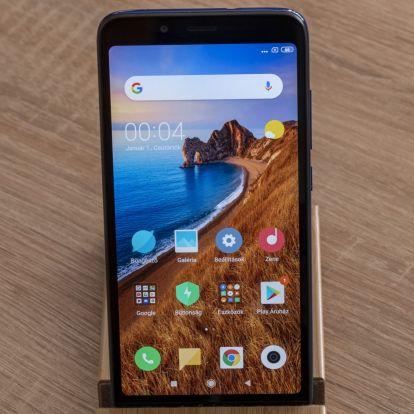 Redmi 7A okostelefon teszt