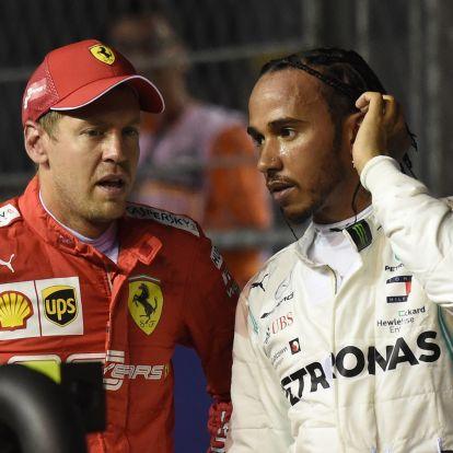 Vettel, Hamilton: Baromság a fordított rajtrács