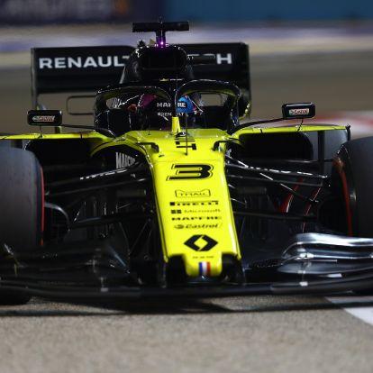 F1: Kizárták Ricciardót az időmérőről
