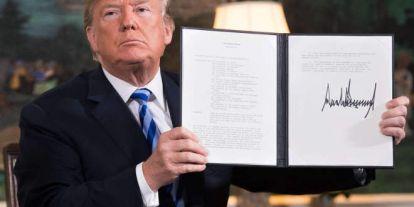 Donald Trump újabb szankciókat jelentette be Irán ellen