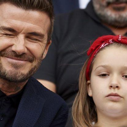 David Beckham kirakta LEGO-ból a Roxfortot, felesége büszke rá