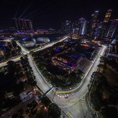 Élő: Forma-1 Szingapúri Nagydíj