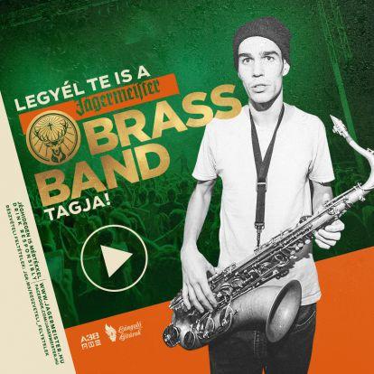 Mától indul a Jägermeister Brass Band, az év zenei kihívása!