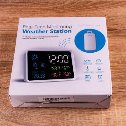 YuiHome időjárás állomás teszt