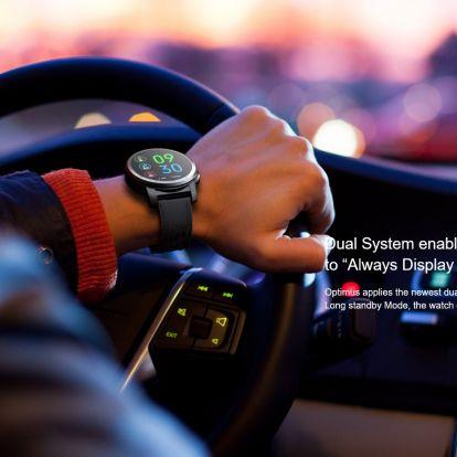 Kospet Optimus Pro vs. Ticwatch Pro okosórák