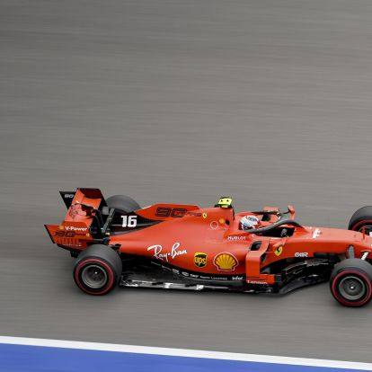F1: Mesternégyes a szocsi időmérőn