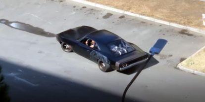 Csak feltűnt a Dodge Charger is a kilencedik Halálos Iramban forgatásán
