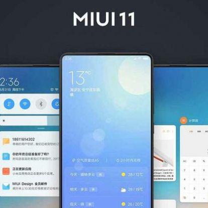 Érkezik Xiaomi MIUI 11-es verziója