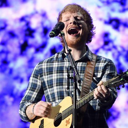 Ed Sheeran a turnézás után a festeni kezdett