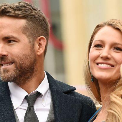 Megszületett Blake Lively és Ryan Reynolds harmadik gyereke
