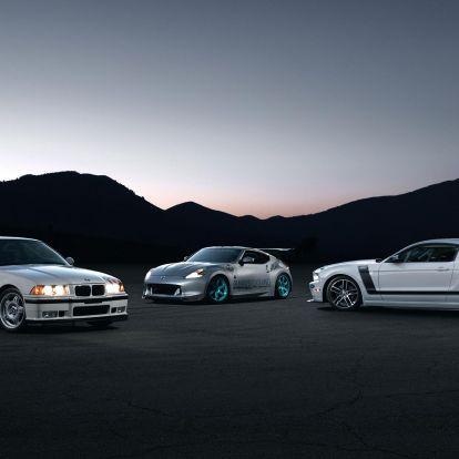 Paul Walkernek hét BMW M3 is állt a garázsában
