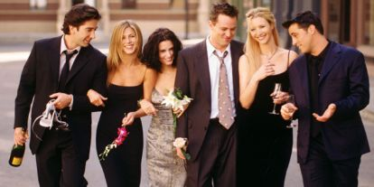 Los protagonistas de 'Friends' se reencuentran 25 años después del final de la serie
