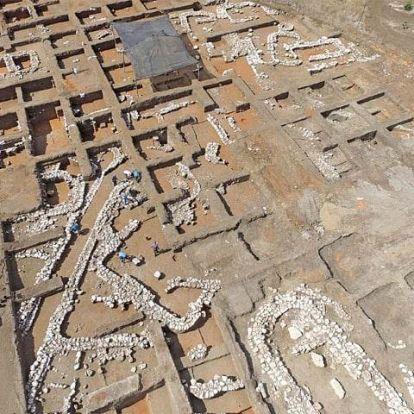 Ötezer éves nagyváros maradványaira bukkantak Izraelben