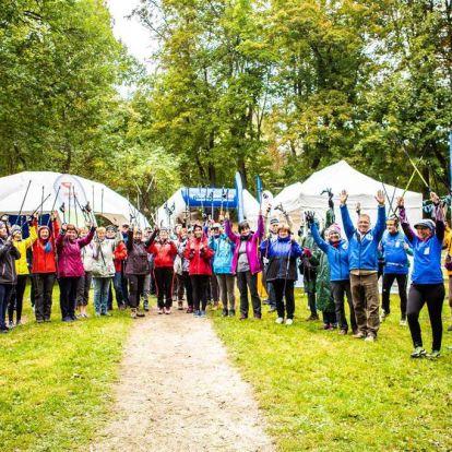 A nordic walking a fiatalok sportja is Budapesten
