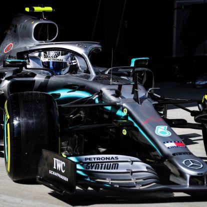 F1: Elsőre robbantott a Mercedes Szuzukában
