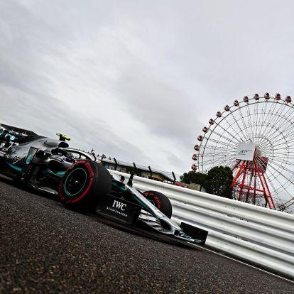 F1: Bottasé az ideiglenes pole-pozíció Szuzukában
